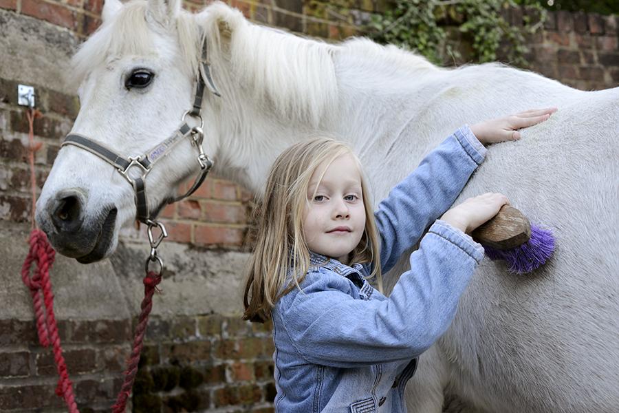 Sara loves ponies