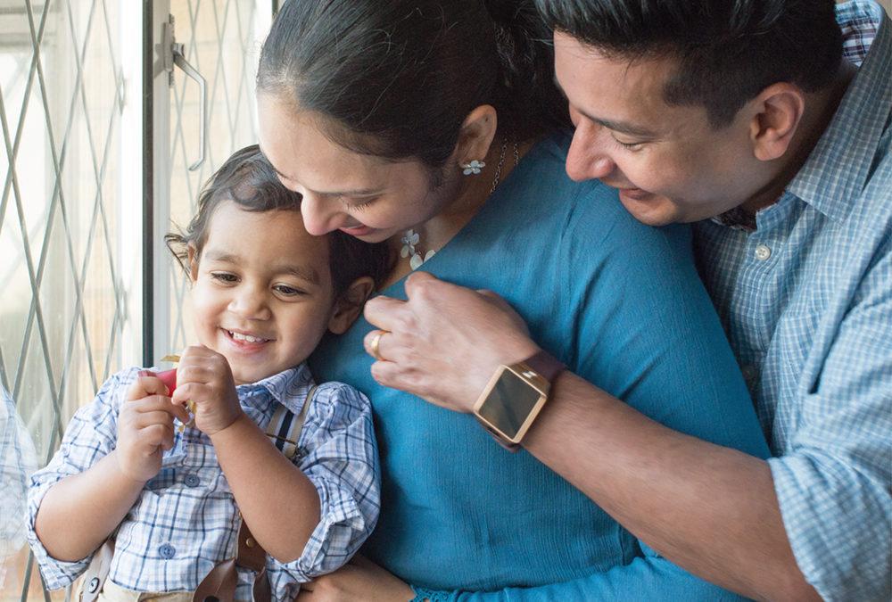 Hera's family photo shoot