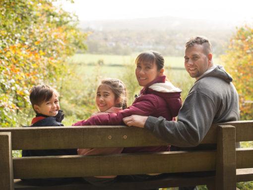 Autumnal family photo session