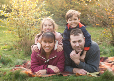 Autumnal family photo session